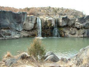 Folsom Falls, New Mexico, courtesy Wikipedia.