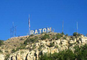 Goat Hill, Raton, New Mexico courtesy Wikipedia