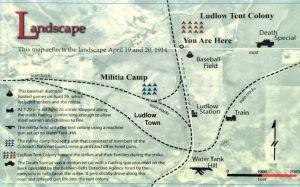 Ludlow Massacre Map