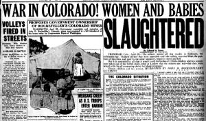 Ludlow, Massacre Newspaper Article