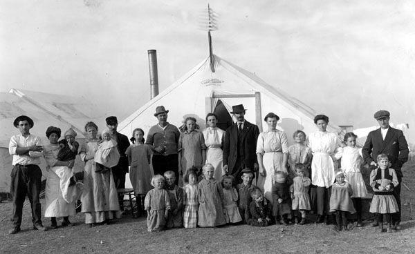 Ludlow, Colorado Tent Families