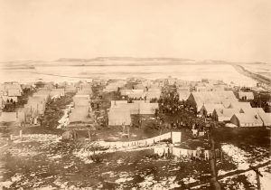 Ludlow Tent Colony before the fire, Lewis Dold, 1914