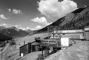 Mayflower Mill near Silverton, Colorado by the Historic American Buildings Survey.