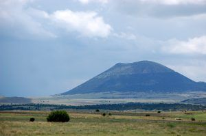 Capulin Mountain, New Mexico by Kathy Weiser-Alexander.
