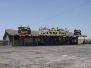 Longhorn Trading Post, Conway, Texas, Kathy Weiser-Alexander, 2004.