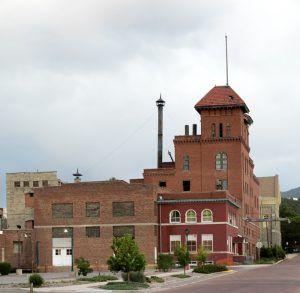 Long-abandoned Henry Schneider Brewery in Trinidad, Colorado by Carol Highsmith, 2016.