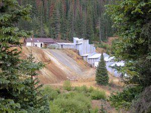 Mining remains near Silverton, Colorado, by Kathy Weiser-Alexander