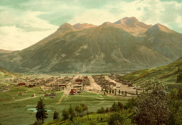 Early Silverton, Colorado by the Detroit Publishing Company.