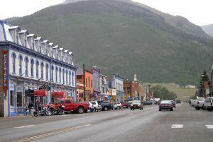 Greene Street in Silverton, Colorado by Kathy Weiser-Alexander