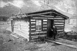 Francis Marion Snowden built the first cabin in Silverton, Colorado.
