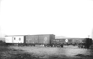 St. Louis. Rocky Mountain & Pacific Railroad