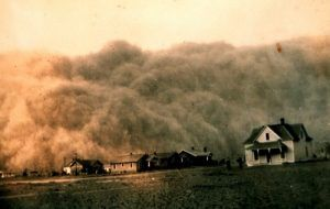Duststorm in the Texas Panhandle.