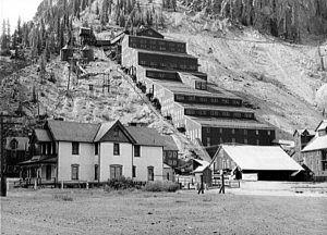 Sunnyside Mill and Mine, Silverton, Colorado.