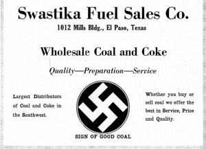 Swastika Fuel Company advertisement