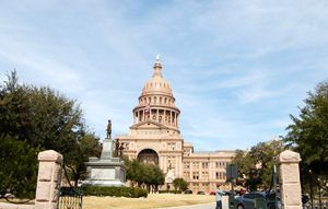 Texas Capitol at Austin.