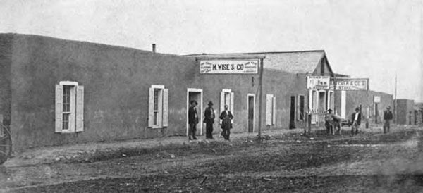 Trinidad, Colorado in 1868