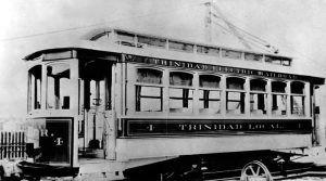 Trinidad, Colorado Electric Streetcar