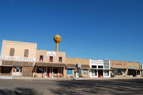 Old downtown Vega, Texas Kathy Weiser-Alexander.