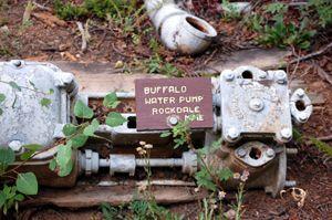 Vicksburg Museum, Colorado - Buffalo Water Pump, Rockdale Mine