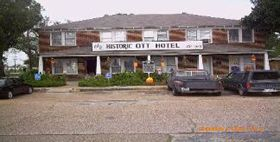 Ghosts Of The Ott Hotel In Liberty Tx