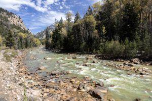 Animas River, high in the San Juan Mountains of San Juan County, Colorado, by Carol Highsmith.