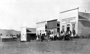 Animas City, Colorado about 1885, courtesy Denver Public Library.
