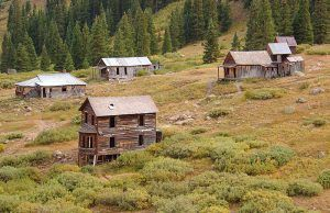 Animas Forks, Colorado by Adam Baker, Wikipedia