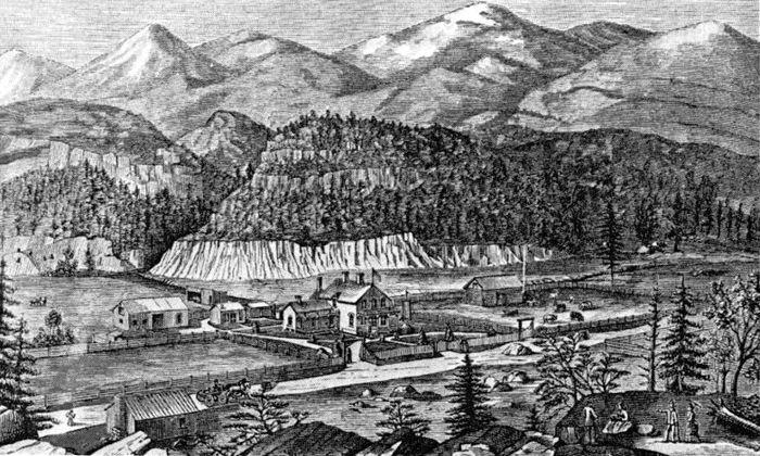 Capitol City, Colorado in 1880