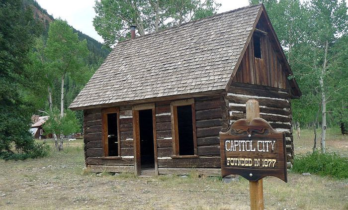 Capitol City, Colorado Post Office today, courtesy Wikipedia