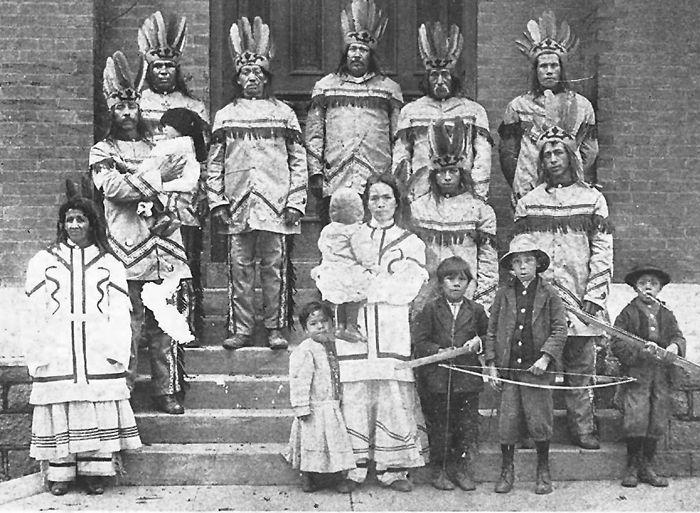 Catawba Indians, 1913