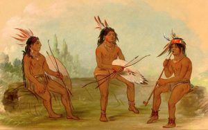 Chinook Men by George Catlin