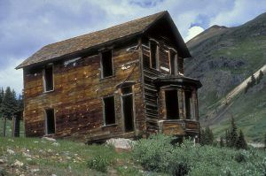Duncan House at Animas Forks, courtesy BLM