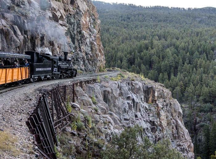 A Durango & Silverton Narrow-Guage Scenic Railroad by Carol Highsmith.