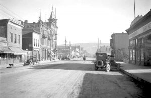 Durango, Colorado in the 1920s, courtesy Denver Public Library