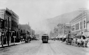 Streetcar in Durango, Colorado