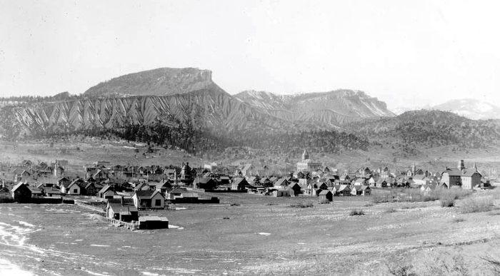 Durango, Colorado about 1895, courtesy Denver Public Library