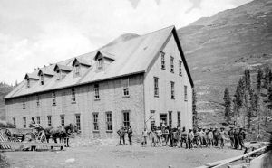 The Gold Prince Mill, Animas Forks, Colorado by the San Juan Studio, about 1910