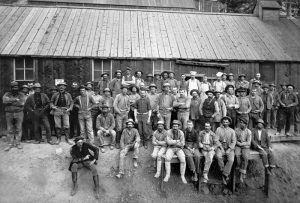 Golden Fleece Miners in the 1880s.