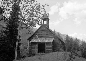 Guston, Colorado Church, Muriel Woole, 1941