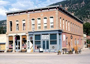 Hough Block, Lake City, Colorado by Thomas Noel, courtesy Denver Public Library