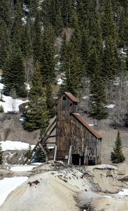 Idarado Gold Mine, Colorado by Carol Highsmith.