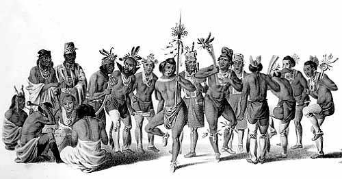 Illinois Indian War Dance
