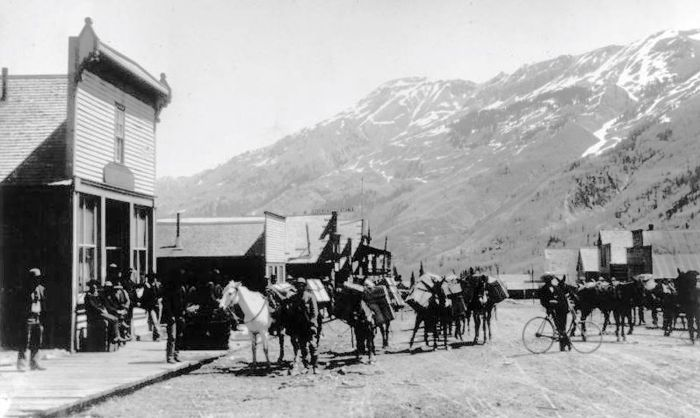 Ironton, Colorado about 1894, courtesy Denver Public Library