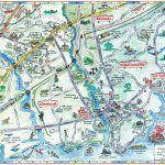 Kennebunks, Maine Map by by Steve Hrehovik, courtesy Kennebunks Chamber of Commerce