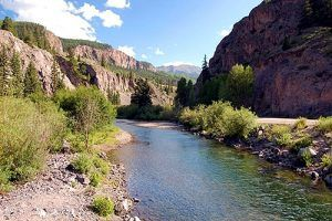 Lake Fork of Gunnison River, Colorado courtesy Bureau of Land Management