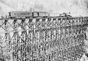 Lake City, Colorado High Railroad Bridge