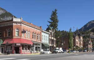 Main Street in Ouray, Colorado by Carol Highsmith.