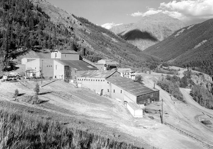 Mayflower Mill near Silverton, Colorado, Historic American Building Survey