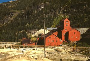 Mill at the Camp Bird Mine, Ouray County, Colorado, by Russell Lee, 1940