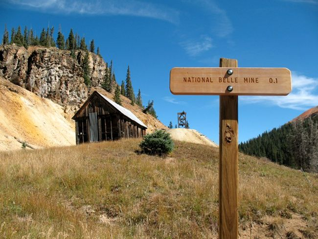 National Belle Mine, Red Mountain Town, Colorado by Colorado Vibes
